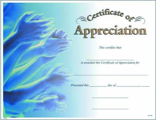 Fill in the blank certificates photo certificate of appreciation yadclub Choice Image
