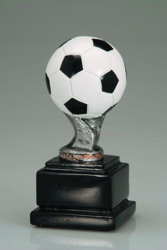 ball pedestal full color soccer pedestal resin trophy awards